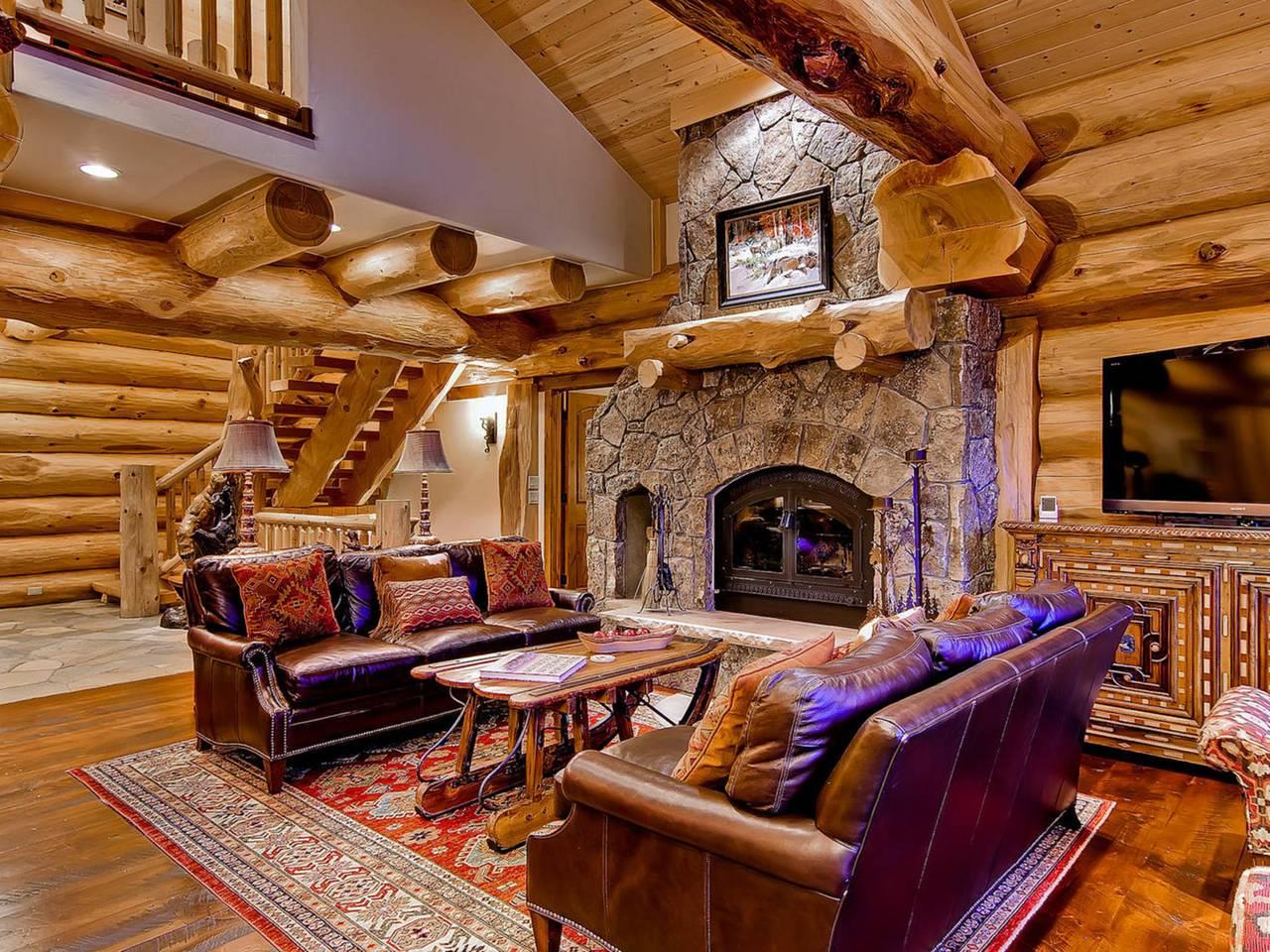 Bear creek cabin breckenridge co pioneer log homes of bc for Cabine colorado breckenridge