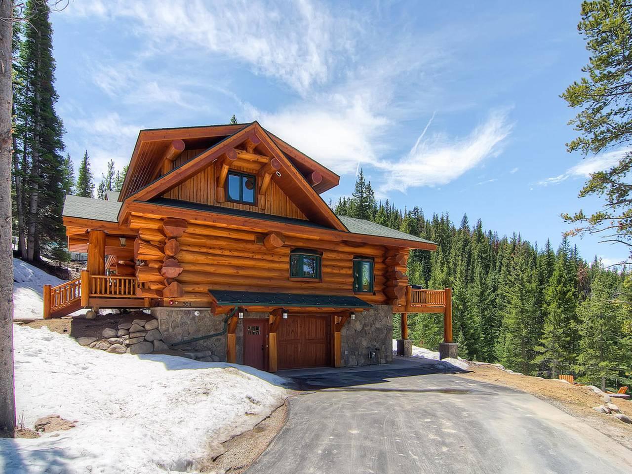 Bear creek cabin breckenridge co pioneer log homes of bc for Breckenridge colorado cabins