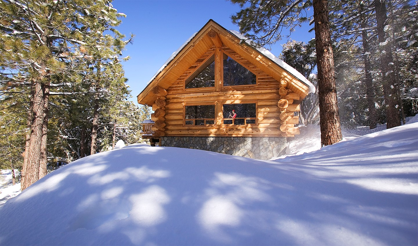 for sale luxury log cabin vacation rental near los. Black Bedroom Furniture Sets. Home Design Ideas