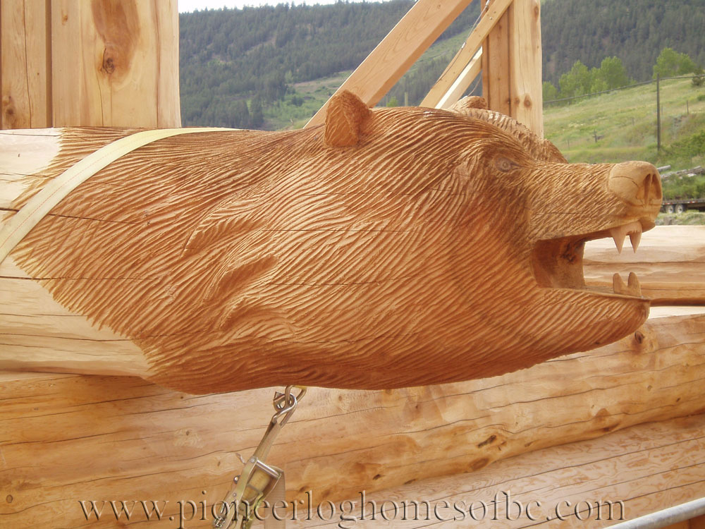 Bear wood carvings pictures to pin on pinterest daddy