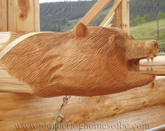 carving-bear-a - wood carving