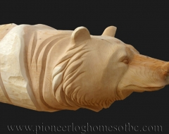 carving-bear-c - wood carving