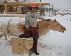 carving-horse-a - wood carving