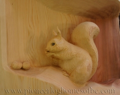 carving-squirrel-a - wood carving