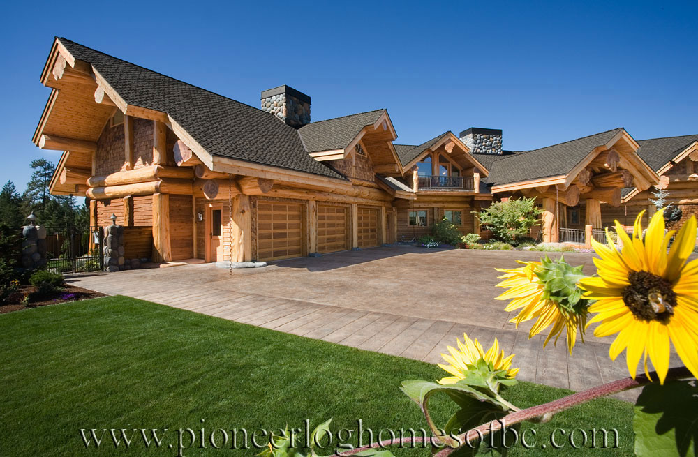 Incredible Grants Pass Oregon Log Home Custom Built Log Homes Home Remodeling Inspirations Genioncuboardxyz
