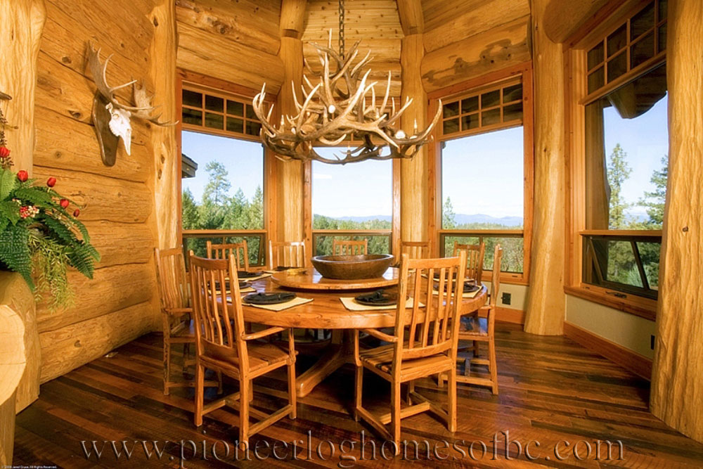 Grants Pass Oregon Log Home Custom Built Log Homes