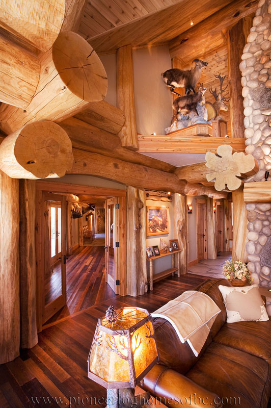 grants pass oregon log home custom built log homes pioneer log homes of bc. Black Bedroom Furniture Sets. Home Design Ideas