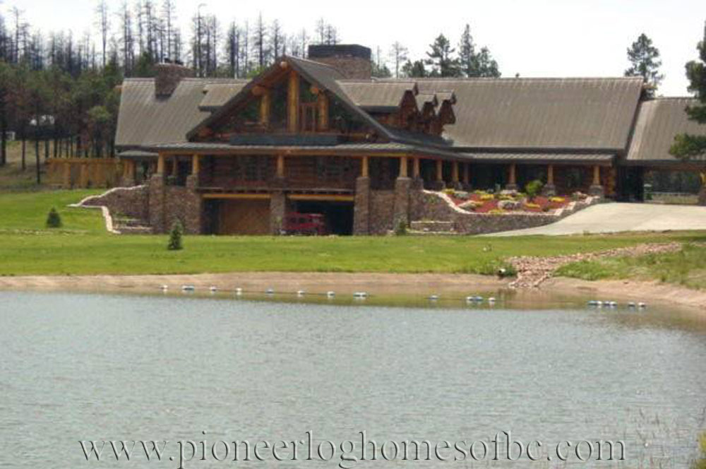 Legacy Lodge - Log Home Picture Gallery | Arizona, USA