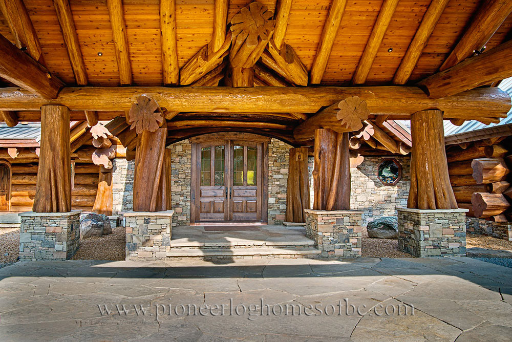custom log homes picture gallery bc canada. Black Bedroom Furniture Sets. Home Design Ideas