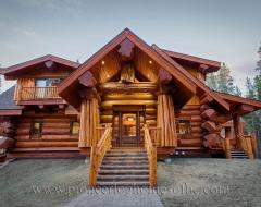 Log Home 497