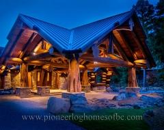 Log Home 500