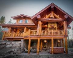 Log Home 495
