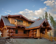 Log Home 498
