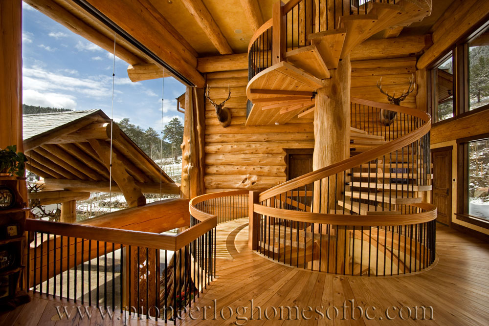 loveland co log home picture gallery colorado usa. Black Bedroom Furniture Sets. Home Design Ideas