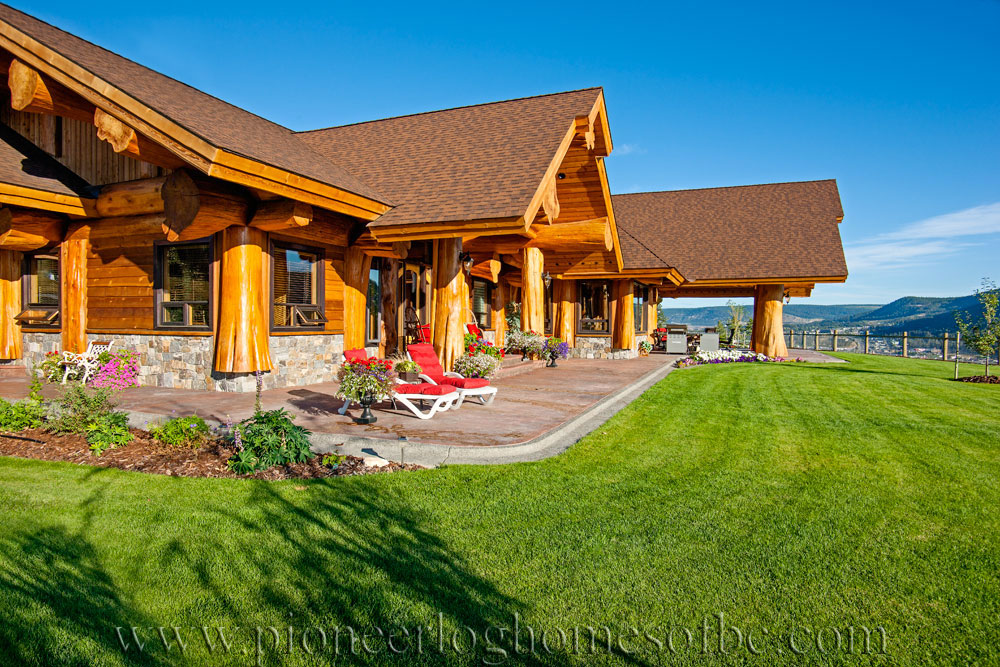 Prosperity Ridge Log Home Picture Gallery Williams Lake