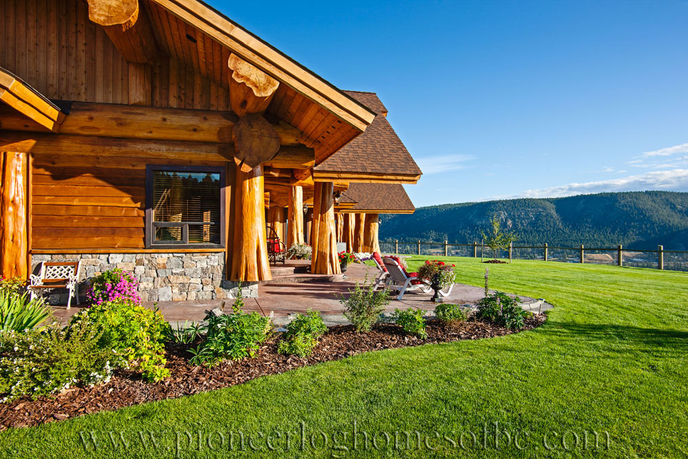 prosperity ridge log home picture gallery williams lake. Black Bedroom Furniture Sets. Home Design Ideas