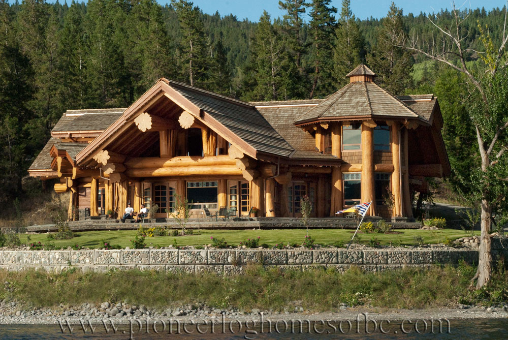 signal point log home picture gallery williams lake bc. Black Bedroom Furniture Sets. Home Design Ideas