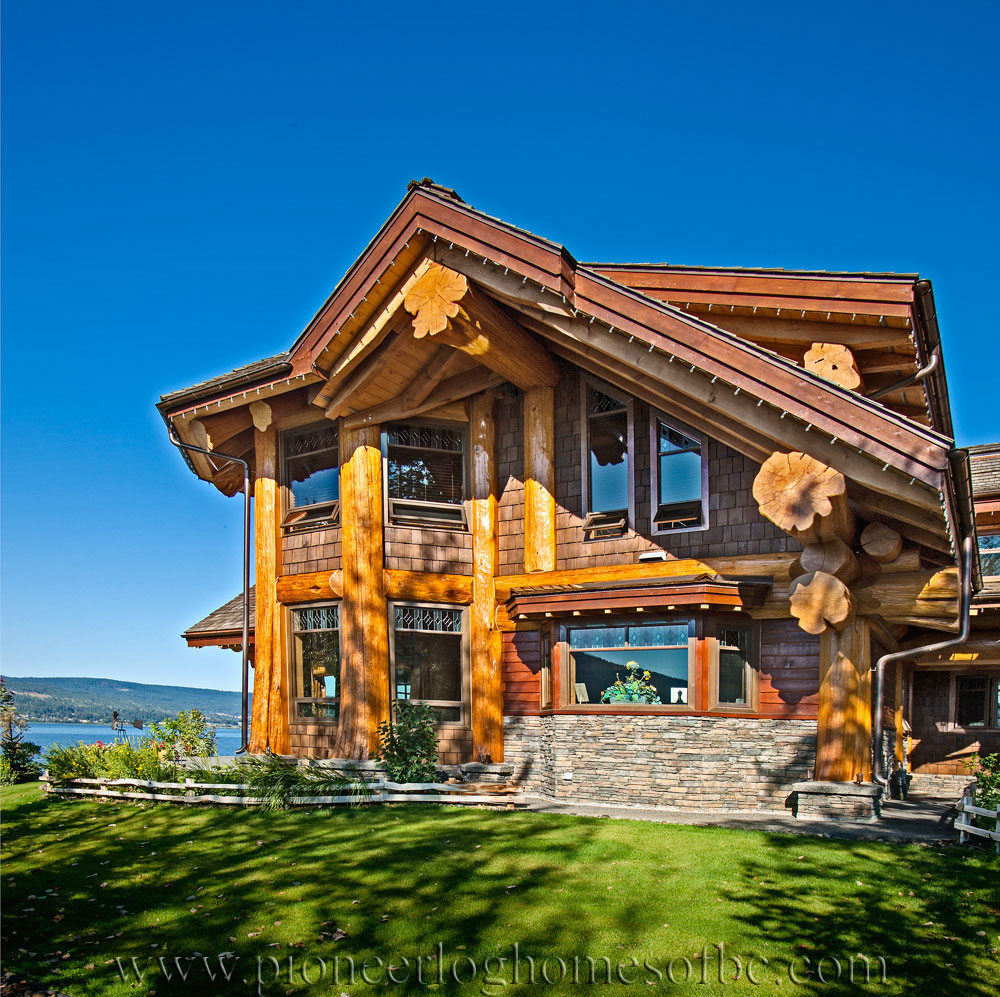 Signal Point - Log Home Picture Gallery