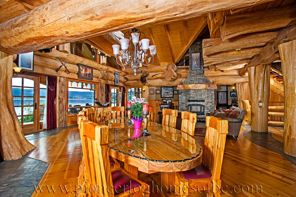 pioneer log homes of bc signal point pioneer log homes of bc. Black Bedroom Furniture Sets. Home Design Ideas