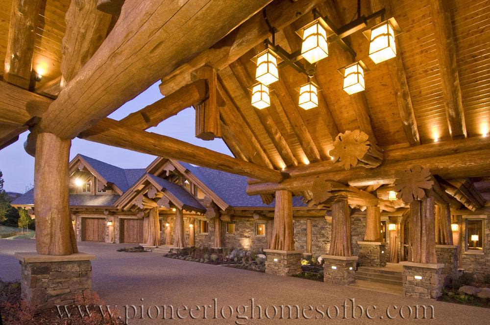 steamboat log home picture gallery colorado usa. Black Bedroom Furniture Sets. Home Design Ideas