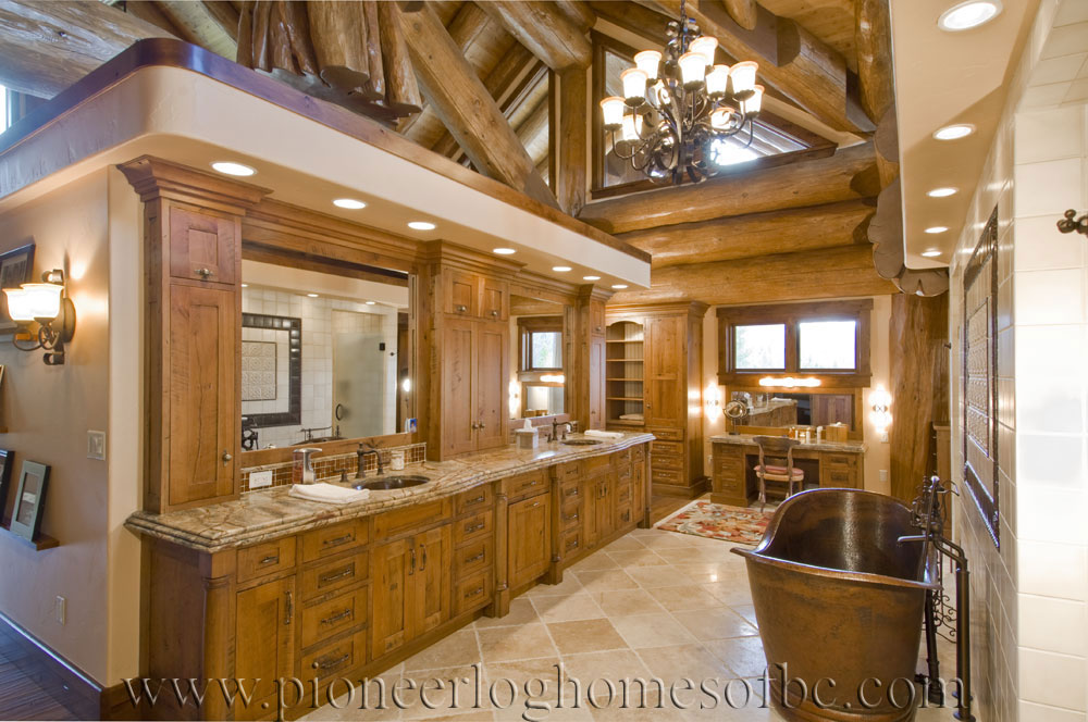 log home interiors. Steamboat P Bathroom Log Homes Archives  Pioneer Homes Of BC