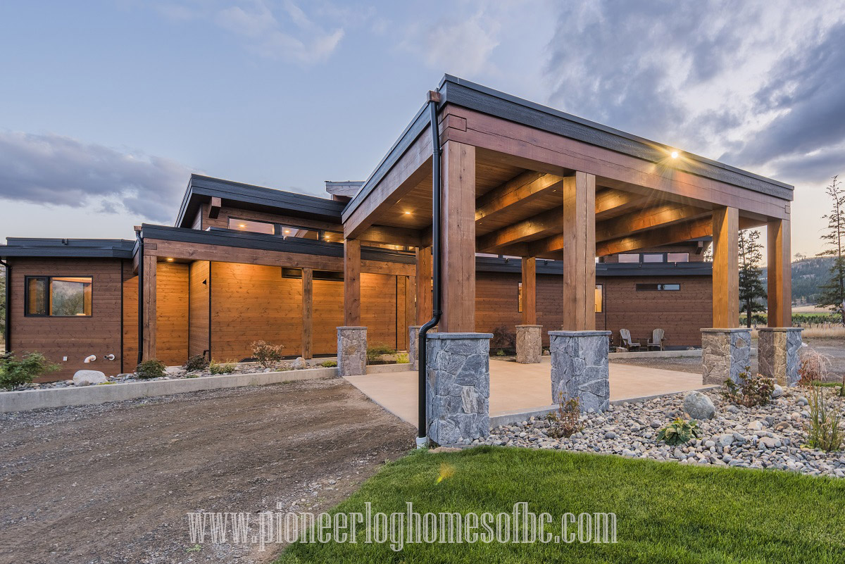 Timber Frame Homes | Pioneer Log Homes of BC