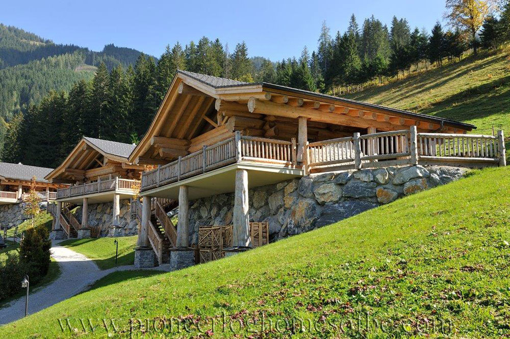 pioneer log homes of bc woodridge luxury chalets pioneer log homes of bc. Black Bedroom Furniture Sets. Home Design Ideas