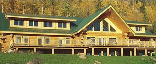 4500 sqft log home and log cabin floor plans pioneer for Hudson log