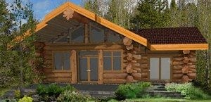 Log Home And Log Cabin Floor Plans | Pioneer Log Homes Of BC