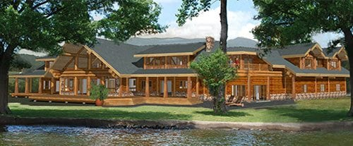 Log Home And Log Cabin Floor Plans Pioneer Log Homes Of BC