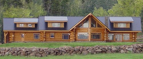 Phenomenal Log Home And Log Cabin Floor Plans Pioneer Log Homes Of Bc Download Free Architecture Designs Estepponolmadebymaigaardcom