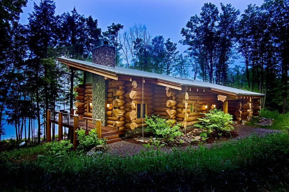 7 reasons to own a log cabin home pioneer log homes blog for Contemporary log home plans