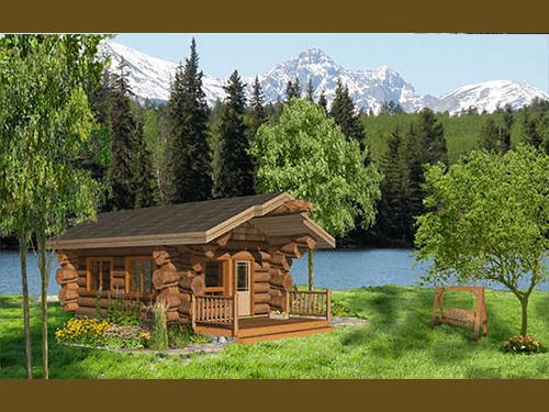Guest Cabin 320 Sf Pioneer Log Homes Of Bc