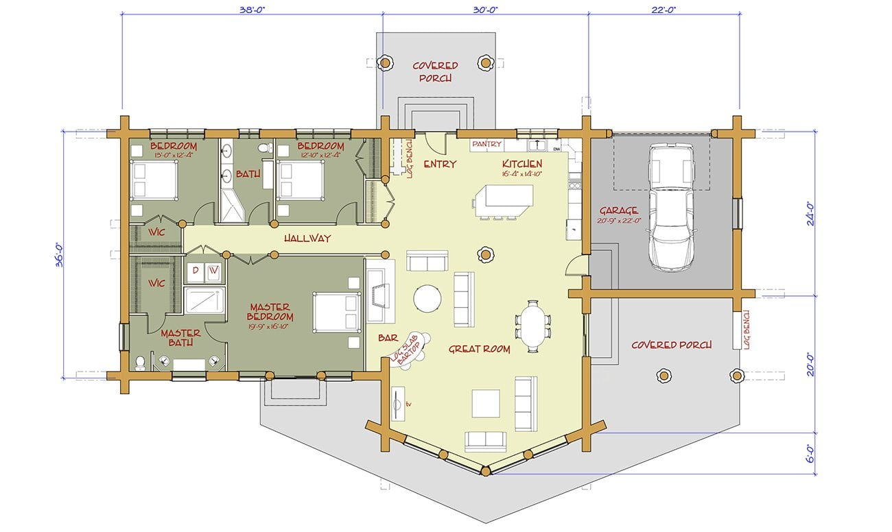 Multi level house plans canada home design and style for Multi level floor plans