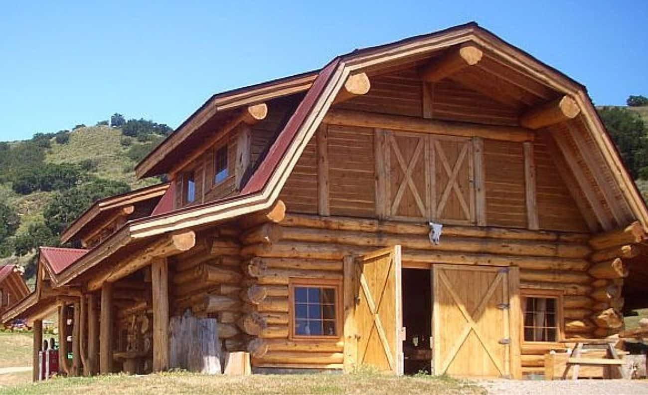 Pioneer Log Homes Of Bc Ridgecrest Barn 1920 Sf