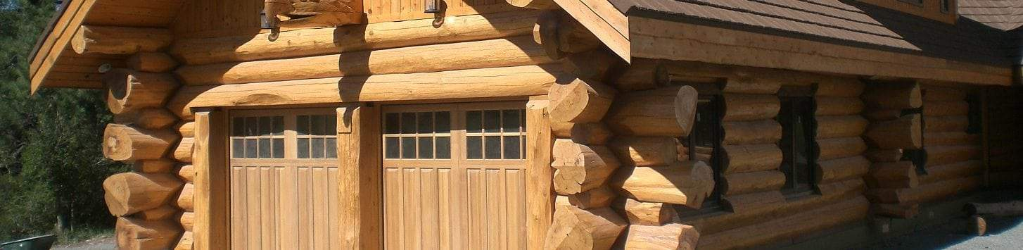 Log Garages and Log Barns - Floor Plans | BC, Canada