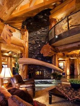 northwest territories log home cabin distributors canada. Black Bedroom Furniture Sets. Home Design Ideas