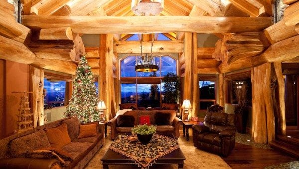 Decorating a Log Cabin Archives | Pioneer Log Homes of BC