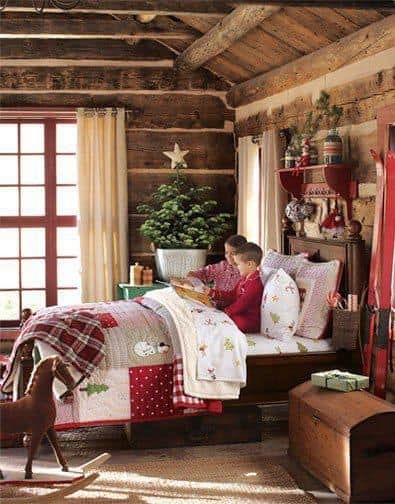 rustic holiday d cor tips pioneer log homes of bc blog