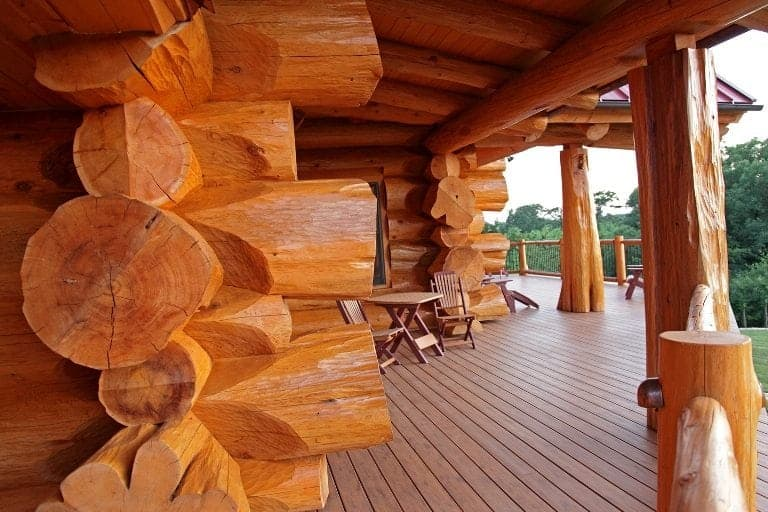 top notch in log home joinery superior log home joinery system. Black Bedroom Furniture Sets. Home Design Ideas