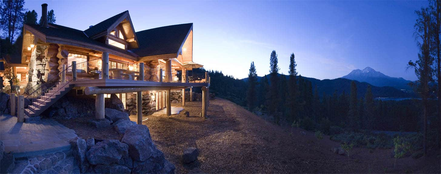 The Effect Of Location On Log Home Design Blog