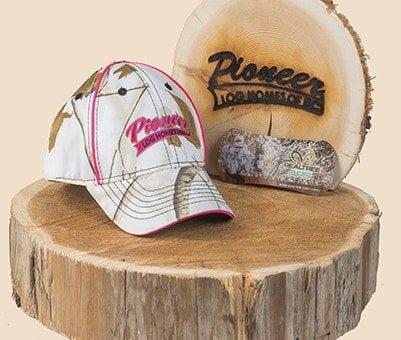 Pioneer Gear Ladies Camo ball cap