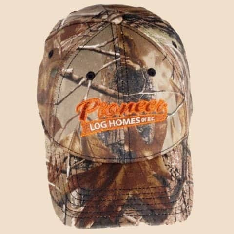 Pioneer camo fitted ball cap