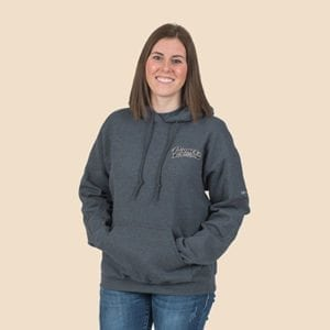 Pioneer Gear Hoodie pull on hooded sweatshirt