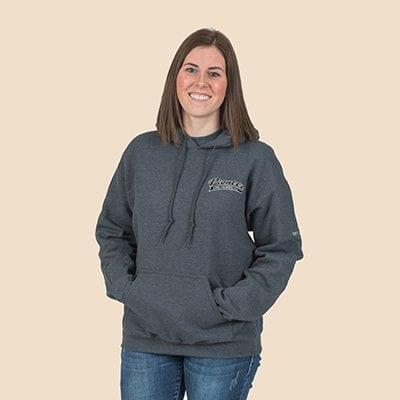 Pioneer Gear Hoodie pull on hooded sweatshirt