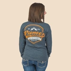 Pioneer Gear Long Sleeve T-shirt Long sleeve shield t-shirt