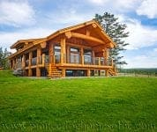 handcrafted log cabin plans and cedar log homes bc. Black Bedroom Furniture Sets. Home Design Ideas