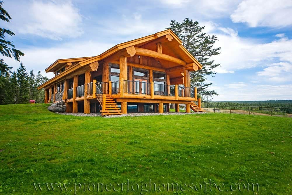 Pioneer Log Homes Floor Plans Goldrush Pioneer Log