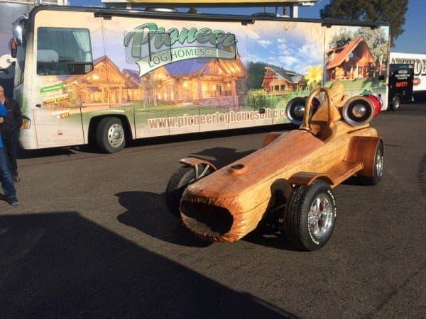 Pioneer At Barrett Jackson In Scottsdale Az Pioneer Log Homes Of Bc