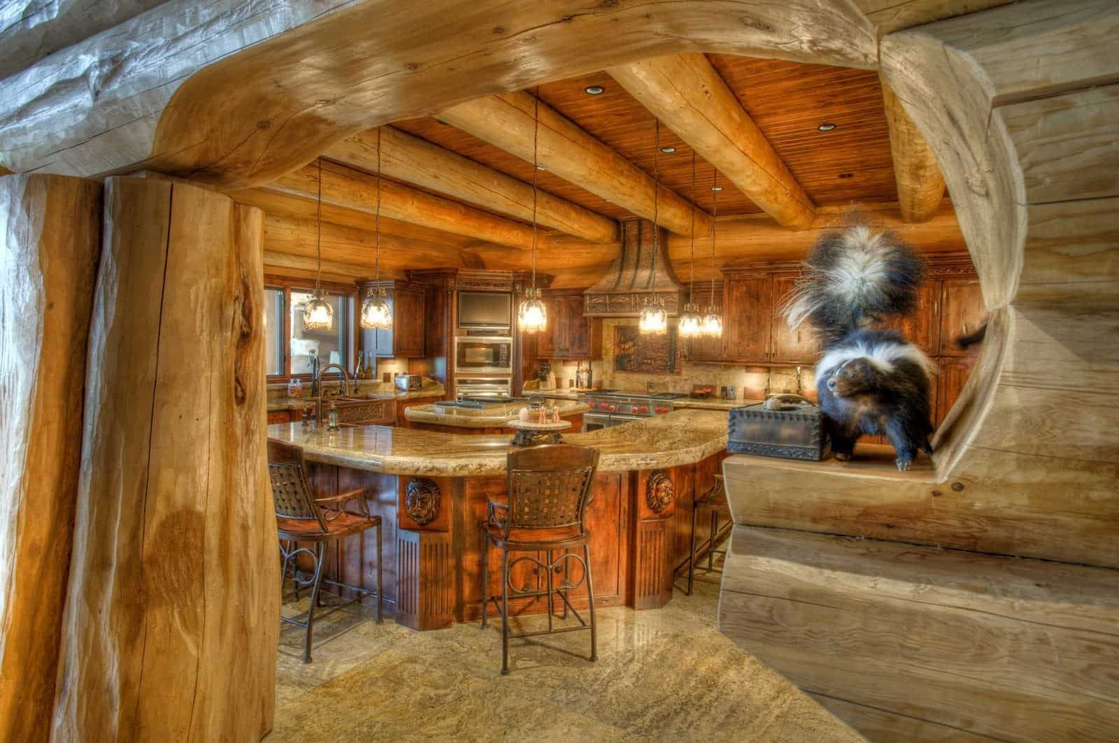 pioneer log home floor plan millersburg pioneer log homes of bc